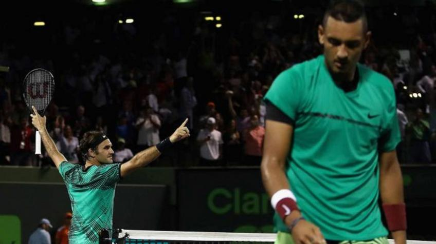 Roger Federer downs Nick Kyrgios to reclaim No.1 spot