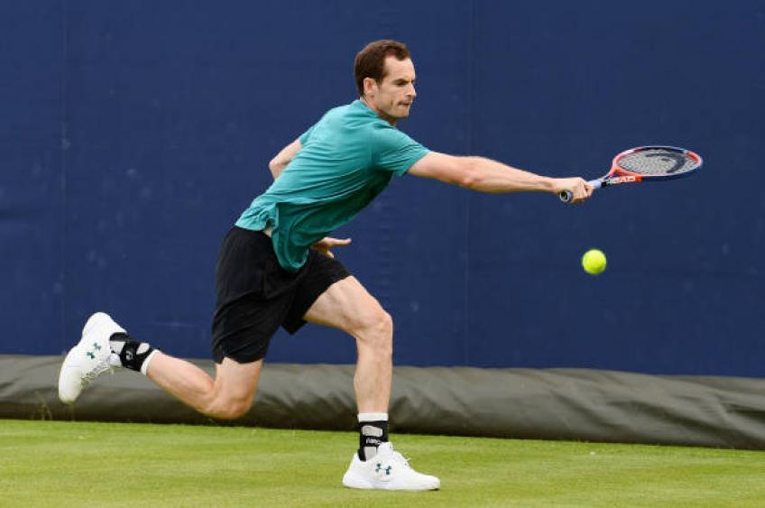 Andy Murray refuses to rule out playing Wimbledon despite defeat