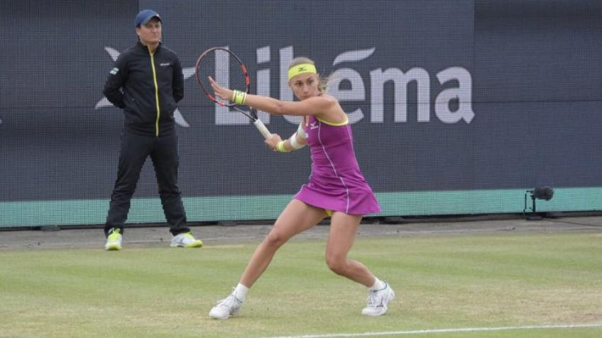 Wta 's-Hertogenbosch: Aleksandra Krunic comes back to seal her maiden title