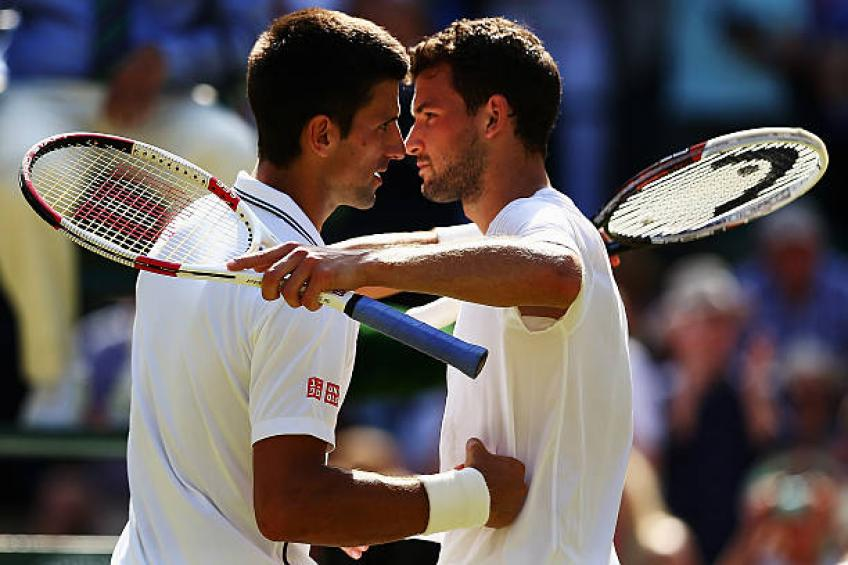 Grigor Dimitrov not afraid of a potential Novak Djokovic challenge