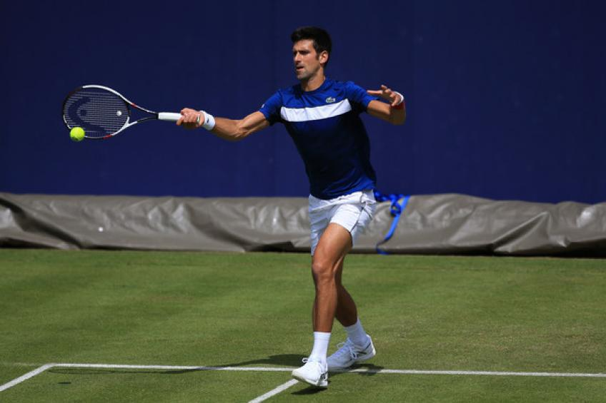 Dimitrov wins tough opener at Queen's