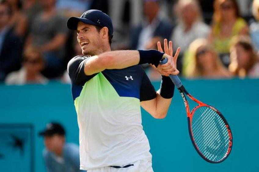 Andy Murray accepts Eastbourne WC to play more pre-Wimbledon matches