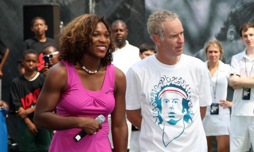 McEnroe says Serena should be seeded at Wimbledon