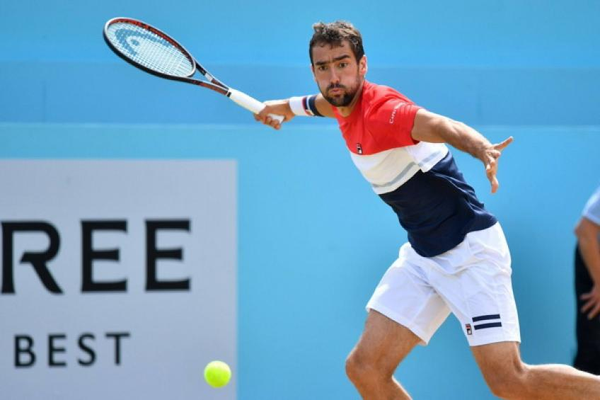 ATP Queen's: Marin Cilic saves MP to edge Novak Djokovic in a thriller