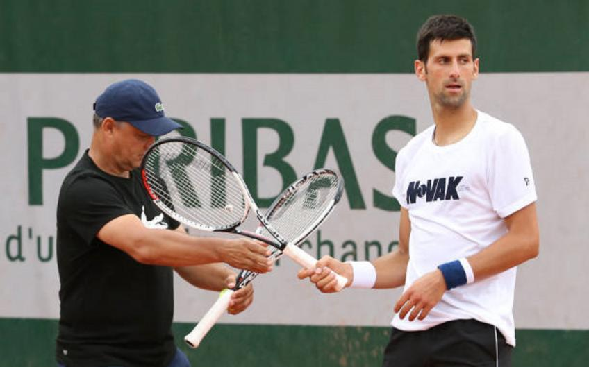 Marian Vajda admits he had doubts when Novak Djokovic called him