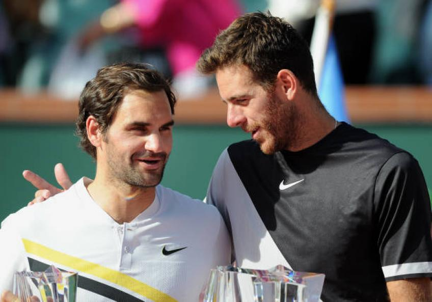 Del Potro and Kyrgios to be Federer and Djokovic's rivals at Laver Cup