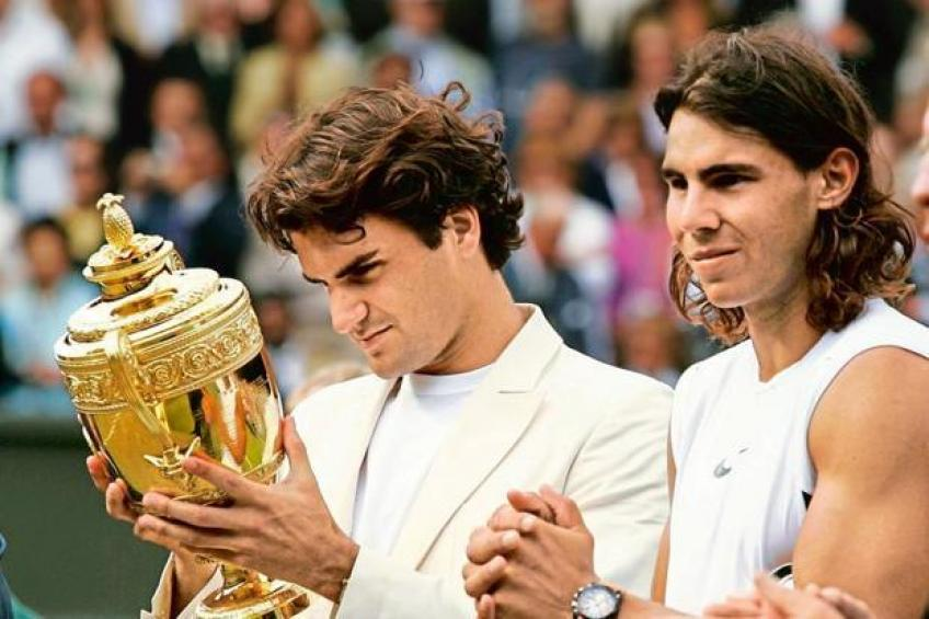 Roger Federer's brilliant response to question about Wimbledon and WC Final clash