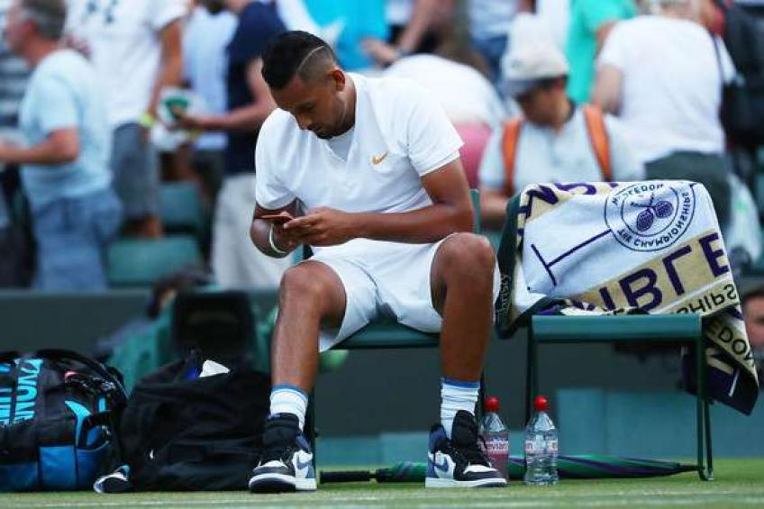 How to lose a set in 16 minutes? Ask Nick Kyrgios