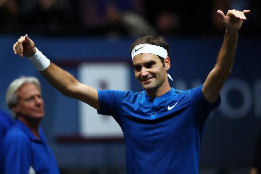 Roger Federer reacts to Laver Cup becoming an annual event