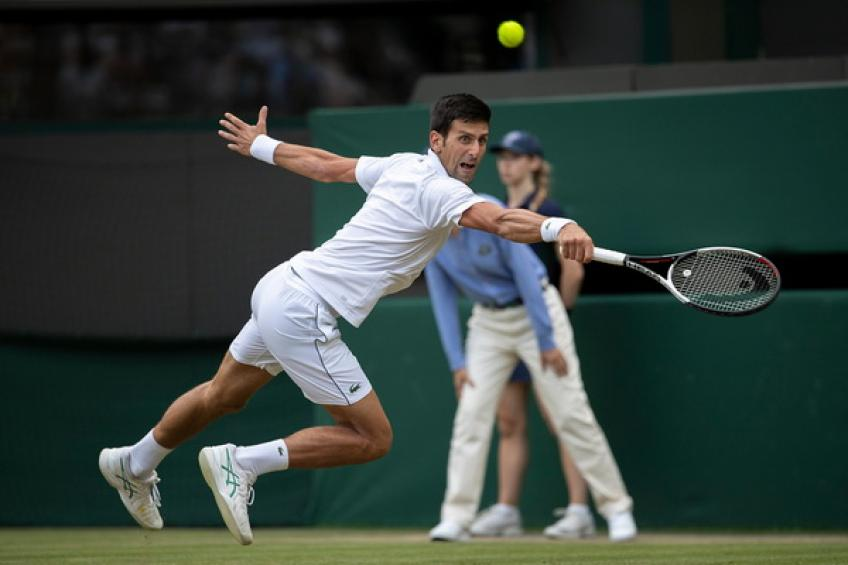 Djokovic edges ahead of Nadal as semi-final halted