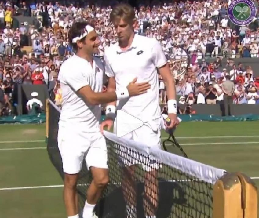 How Kevin Anderson saved match point vs Roger Federer