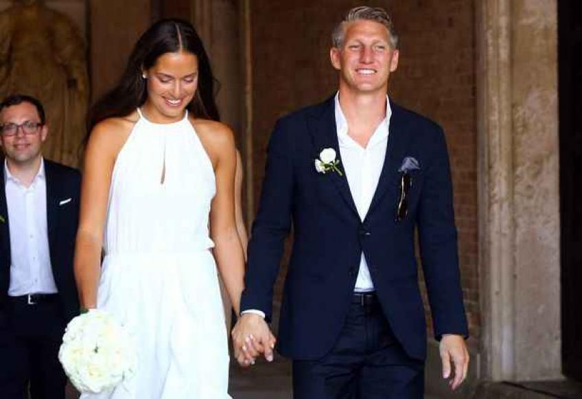 Ana Ivanovic and husband Bastian Schweinsteiger fete wedding anniversary