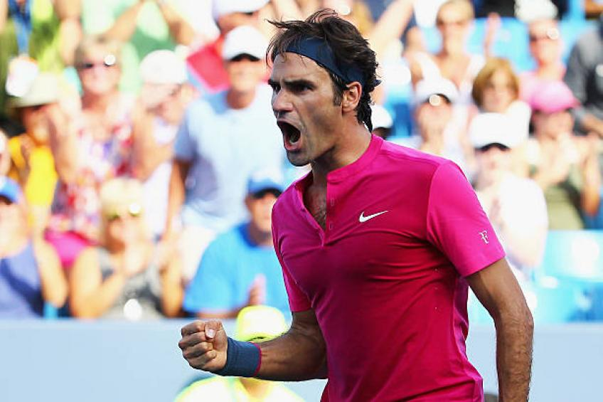 new concept e6a02 c84a4 Featuring Roger Federer, Cincinnati Open claims  strong field