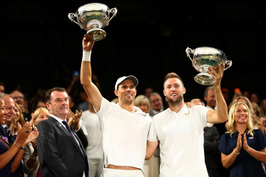 Mike Bryan wins Wimbledon to join Newcombe at the top of the record list