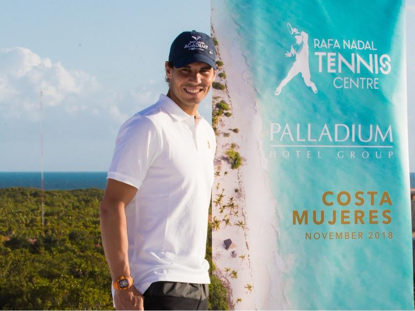 Rafael Nadal invests $8 million for building tennis centers