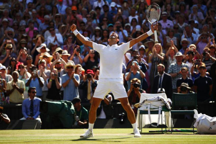 Wimbledon not in favour of on-court coaching: tennis is an individual sport