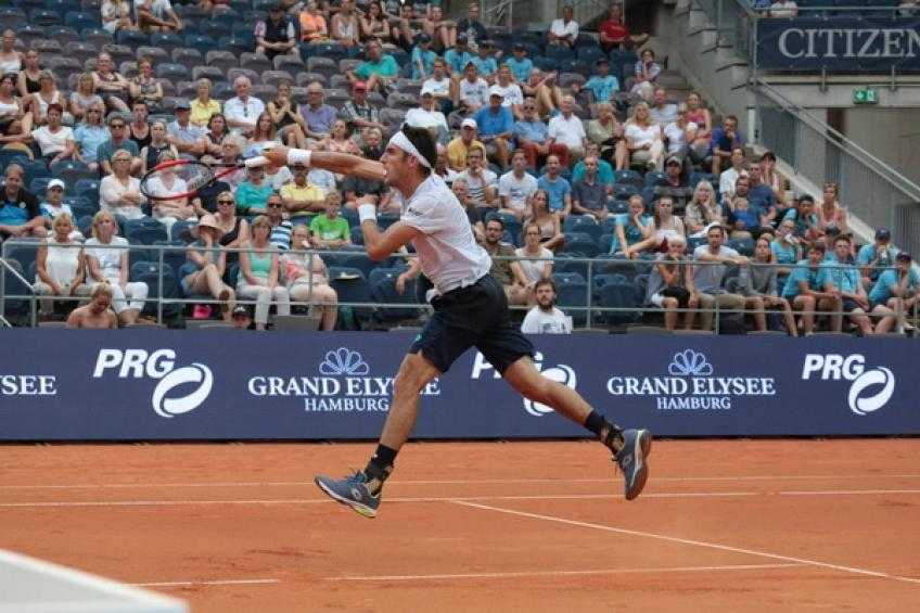 Basilashvili wins 1st ATP title at Hamburg