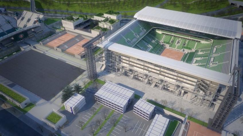 How new Roland Garros will be
