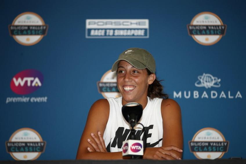 Madison Keys pulls out of San Jose with a right wrist injury