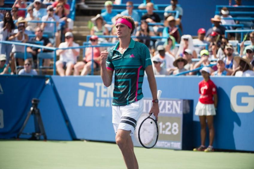 Defending champion Alexander Zverev reaches Citi Open final