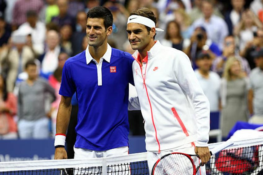 Roger Federer and Novak Djokovic fired warning by Nick Kyrgios