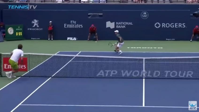 The best point of 2018 Rogers Cup so far: Novak Djokovic vs Mirza Basic