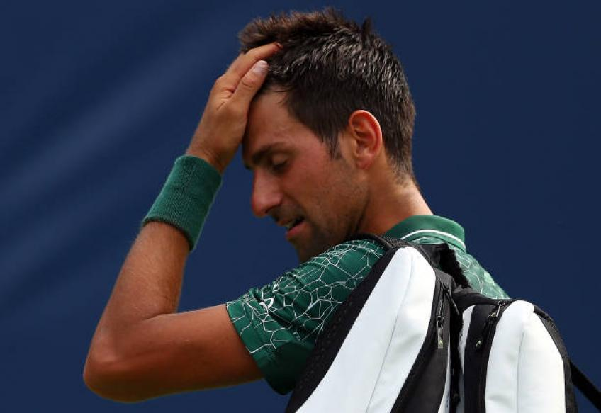 Novak Djokovic: 'I didn't feel comfortable, this loss frustrates me'