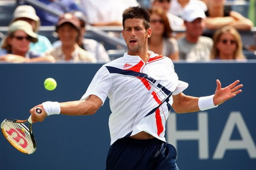 Djokovic needs nine match points as Murray crashes out