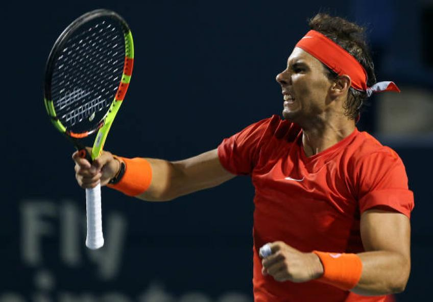 Rafael Nadal didn't play the way he wanted to in Toronto, says coach