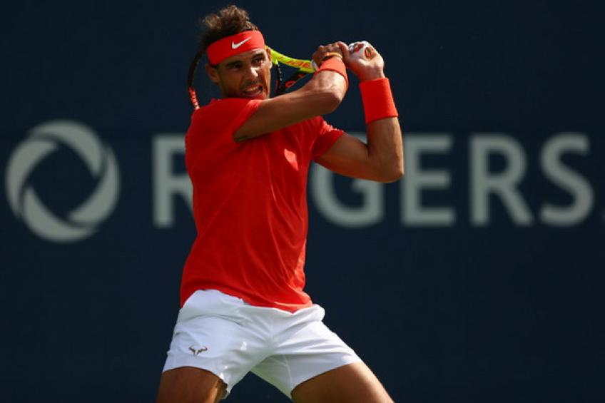 Rafael Nadal joins Roger Federer and Feliciano Lopez on the special list