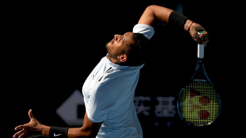 Nick Kyrgios reflects on monstrous 134 mph second-serve ace on match point