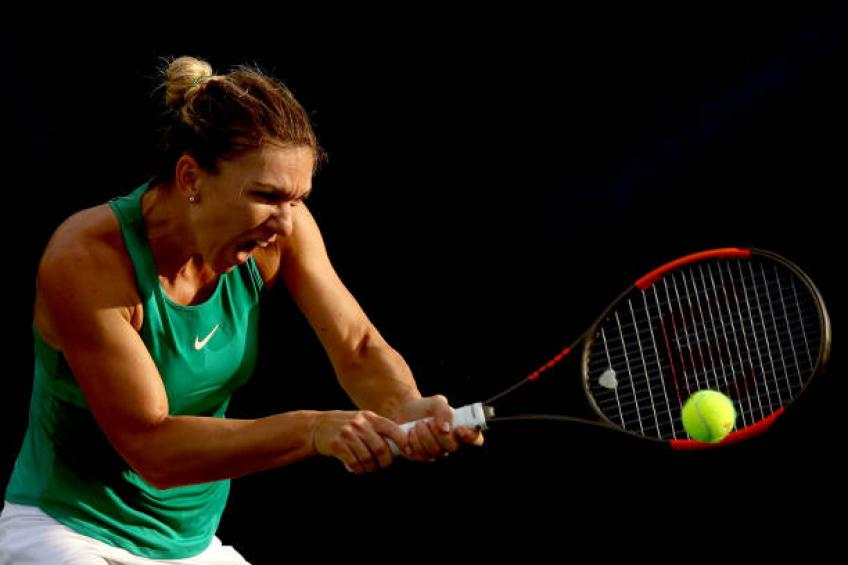 Injured Halep out of Connecticut Open