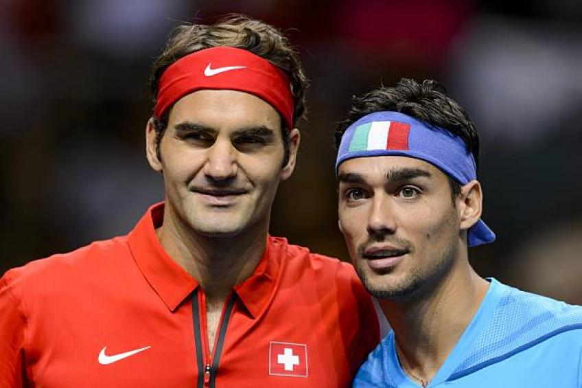 Roger Federer: 'Fabio Fognini shows we are humans'