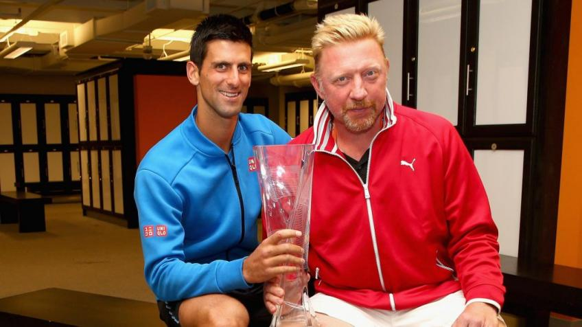 Boris Becker, Jelena Djokovic react to Novak's win over Roger Federer