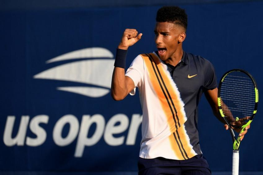 US Open: Auger-Aliassime, Harris, Ruud, Mahut and Young score wins