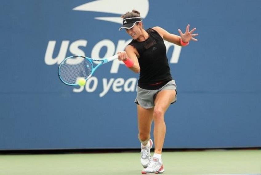 Us Open: Garbine Muguruza and Venus Williams start with a win
