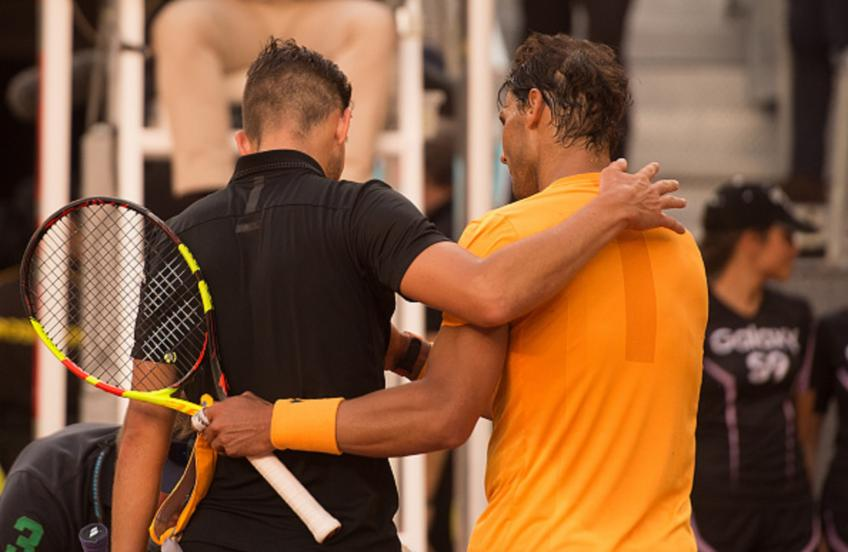 Dominic Thiem: I should play closer to the baseline. Look at Rafael Nadal