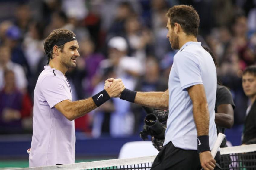 Del Potro: 'Not winning Majors because of Roger Federer doesn't sadden me'