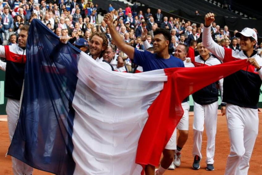 France back in Davis Cup final with win over Spain