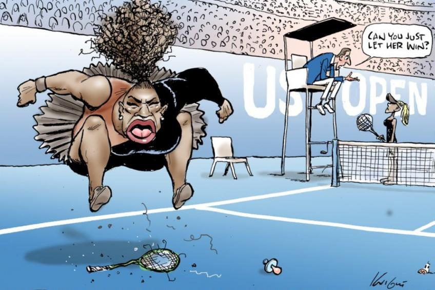 [Image: mark-knight-the-cartoon-about-serena-wil...t-race.jpg]