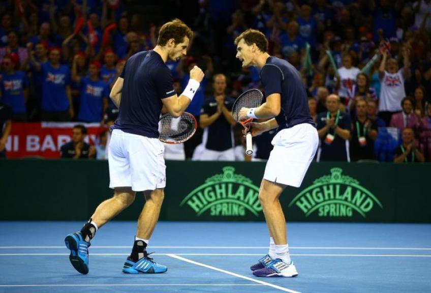 Jamie Murray hopes brother Andy Murray will make Davis Cup return next year