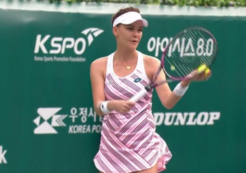 WTA Seoul: Agnieszka Radwanska off to a winning start