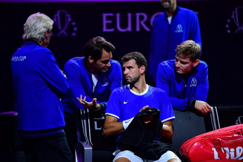 Dimitrov, Edmund win to give Europe 2-0 lead in Laver Cup