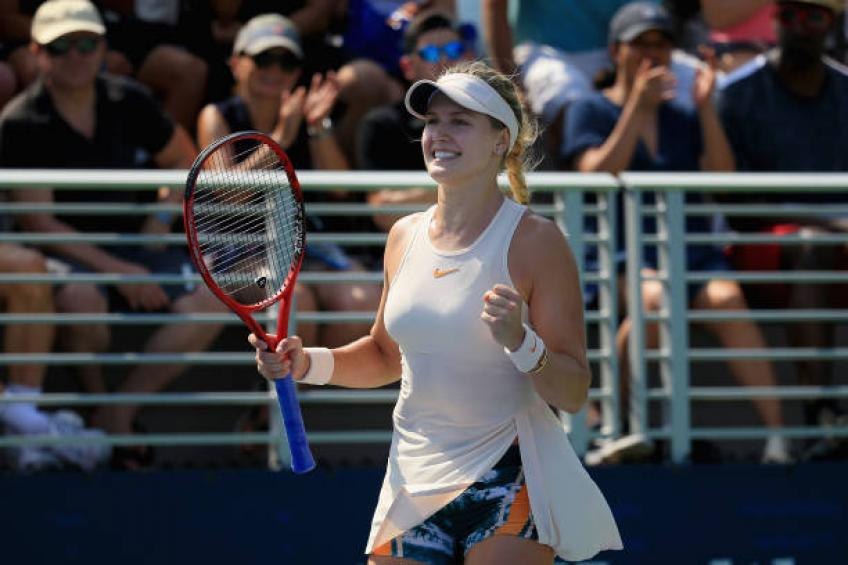 Eugenie Bouchard: 'It's not the end of my career. I am here to stay'