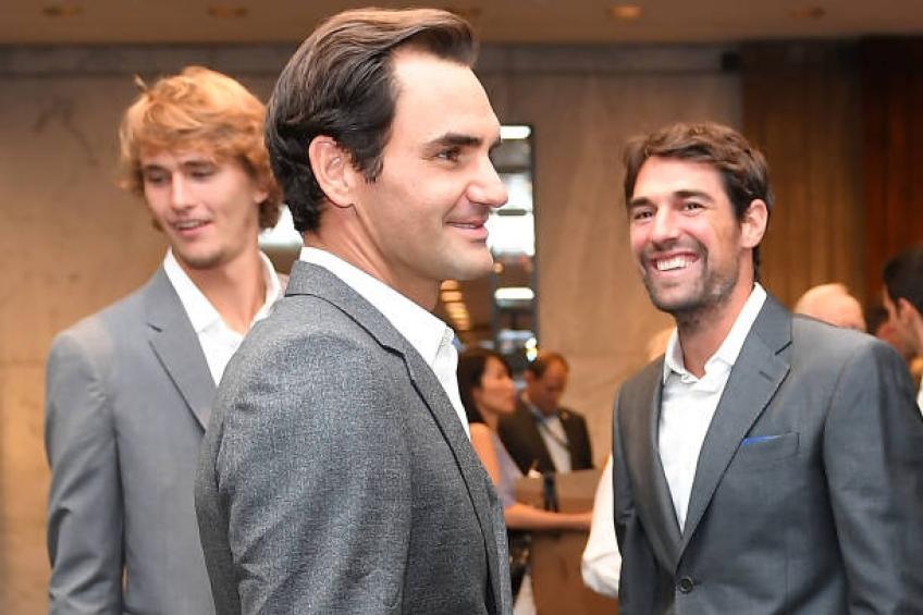 Roger Federer: 'I can't play doubles in Grand Slams'