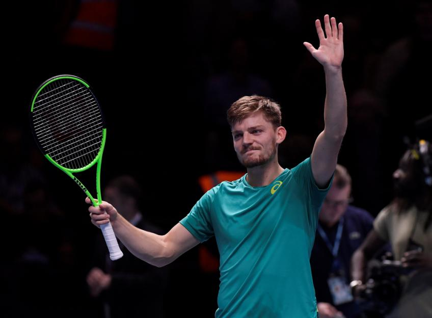 Injury forces David Goffin to prematurely end season