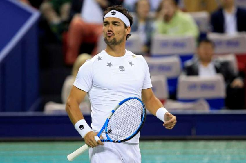 Fabio Fognini withdraws from Shanghai Masters due to injury