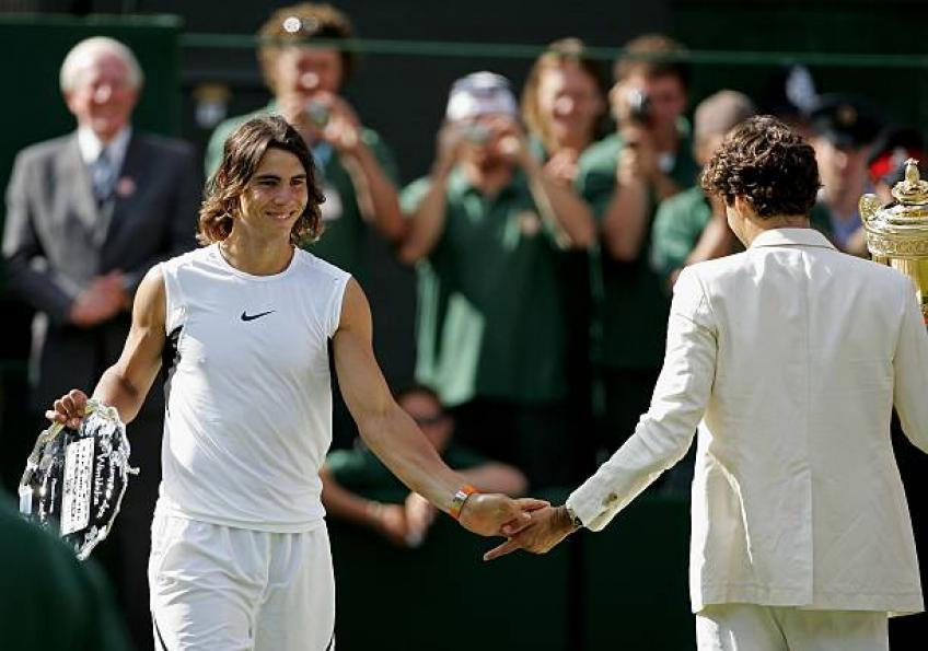 It S Just A Game Rafael Nadal Proud About Friendship With Roger Federer