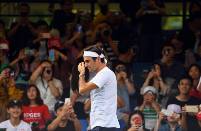 I lost the opportunity to face Roger Federer, admits Chinese no. 1