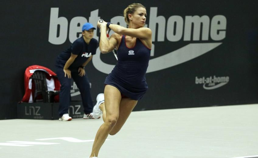 Giorgi beats Alexandrova to end drought in Austria